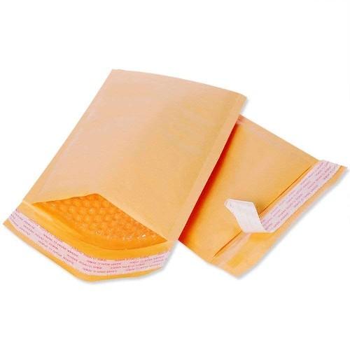 envelope com papel bolha