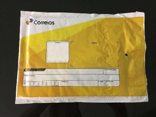 envelope plastico correios