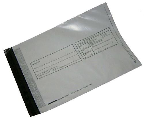 envelope plástico para correspondência
