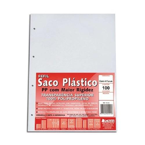 saco plástico a4 4 furos