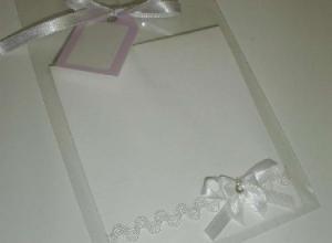 envelope plastico para convite