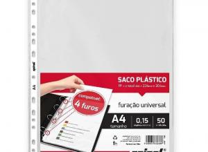 envelope plastico para fichario
