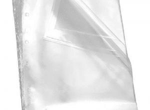 envelope saco plástico a4
