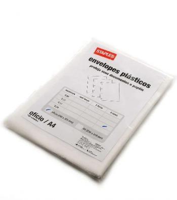envelope plastico com 4 furos